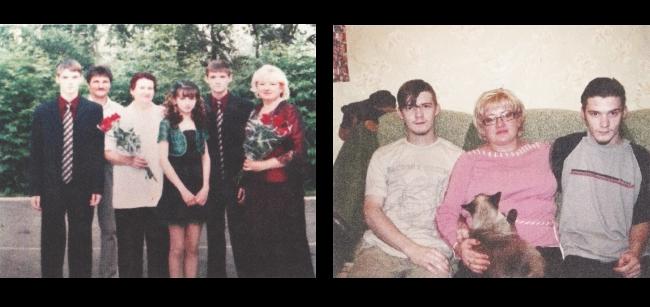 Семья Черновых / Фотографии предоставлены родственниками Андрея Чернова для ОВД-Инфо